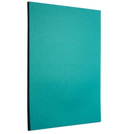 Teal Scrapbooking Paper (JAM Paper® Metallic Paper, 8.5