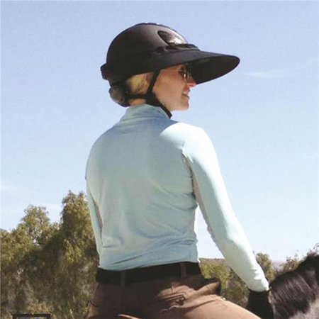 Equestrian Helmet - Equivisor 9409000004 Equestrian Helmet Visor, Khaki
