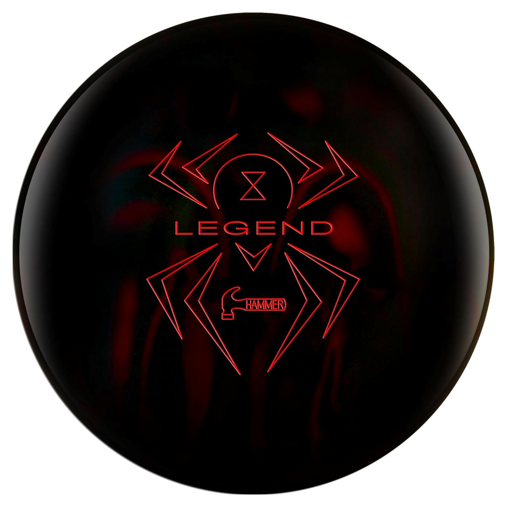 Hammer Black Widow Legend Bowling Ball (14lbs) by Hammer Bowling Products
