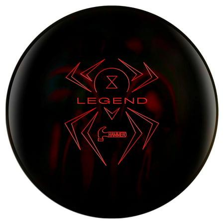 Hammer Black Widow Legend Bowling Ball - Diameter Bowling Ball