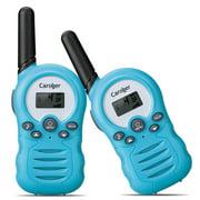 Walkie Talkies for Kids, 22 Channel Two Way Radio 3 Miles (up to 5Miles) Walkies Talkies , Long Range Wireless Handheld Mini Outdoor Camping Toys for Boys Girls( 1 Pair )