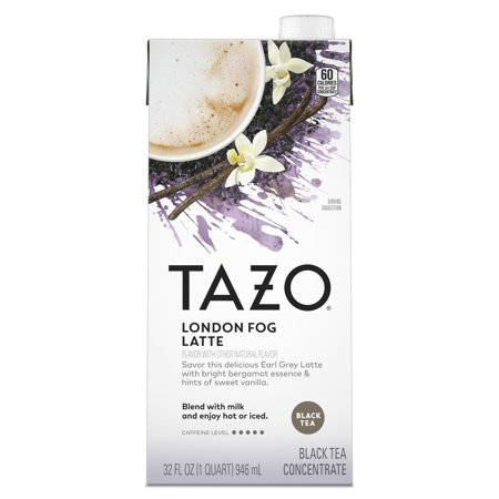 Tazo London Fog Latte Black Tea Concentrate 32 fl oz