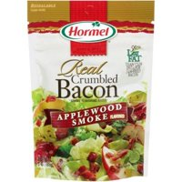 (3 Pack) Hormel Real Crumbled Bacon, Applewood Smoke, 3 Oz