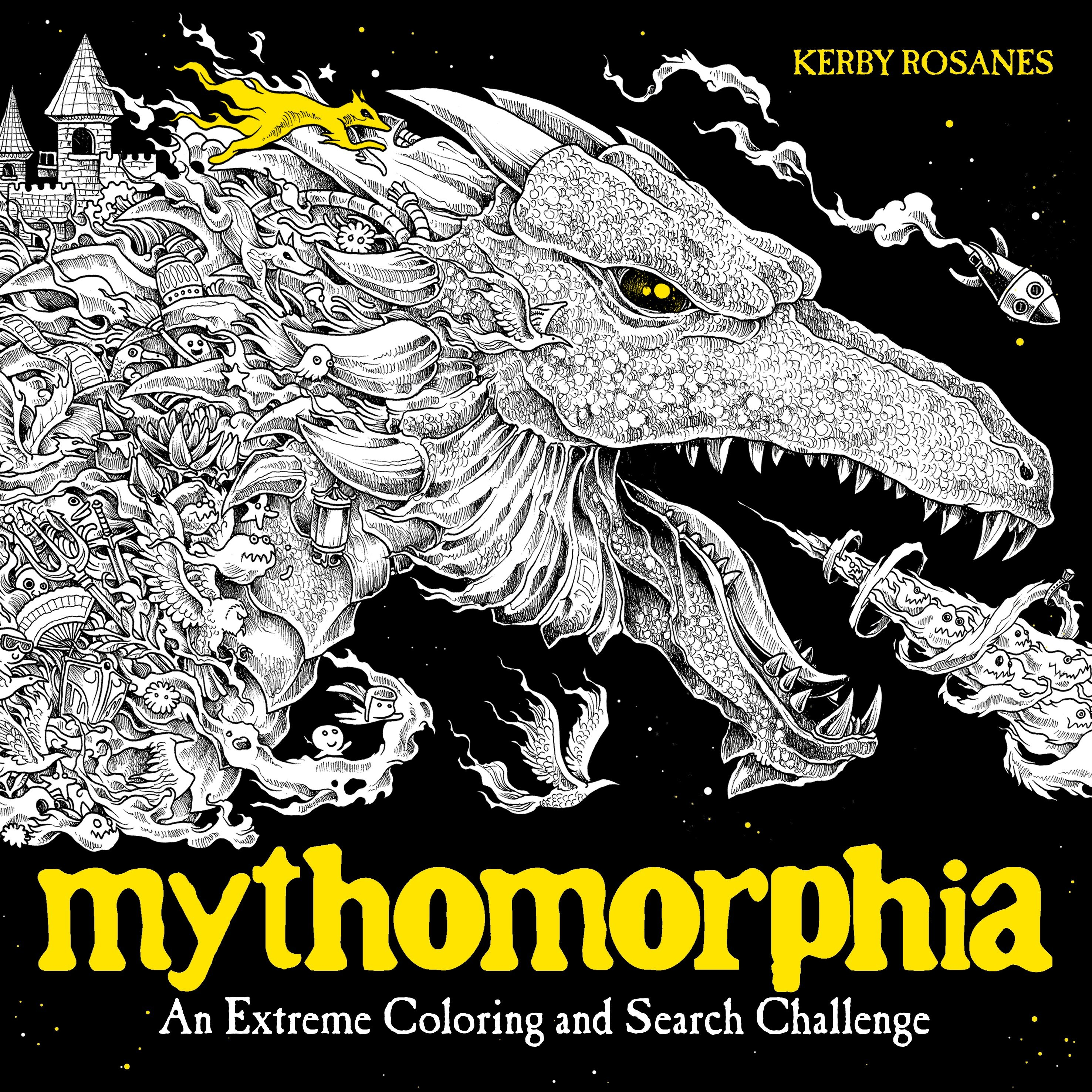 Mythomorphia an extreme coloring and search challenge
