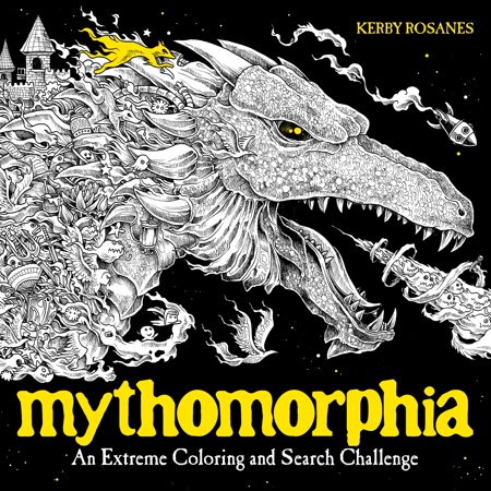 Mythomorphia : An Extreme Coloring and Search - Challenging Halloween Coloring Pages