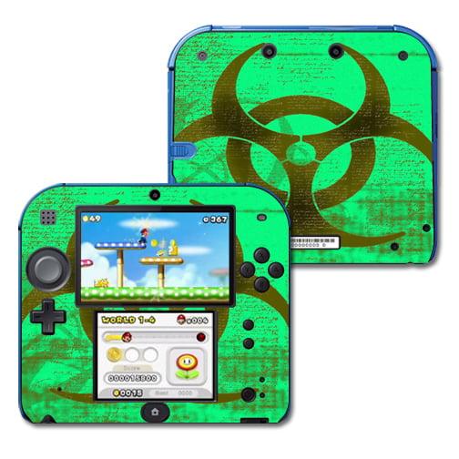 Skin Decal Wrap for <mark>Nintendo</mark> 2DS sticker Biohazard