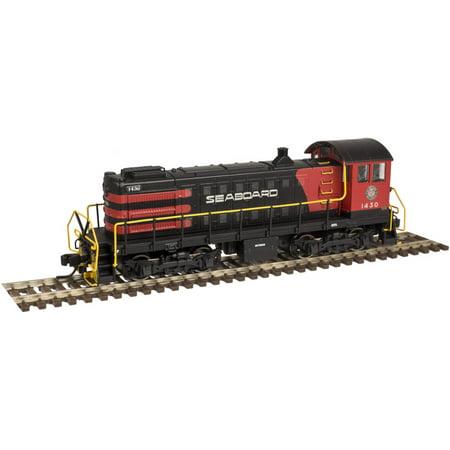 Atlas 40002930 N Seaboard Air Line S 2 Locomotive Gold  Black Red   1427