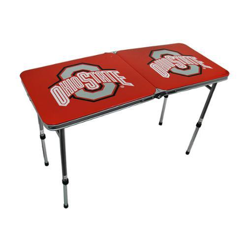 Ohio State University Buckeyes LSU Folding Aluminum Tailgate Table