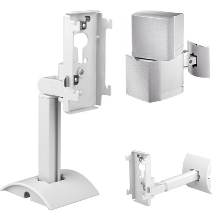 UB-20 Series II Wall Mount Ceiling Bracket Stand Compatible with All Boses CineMate Lifestyle (White)
