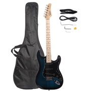 Glarry 22 Frets Basswood Beginner Electric Guitar w/ Accessories 8 Colors