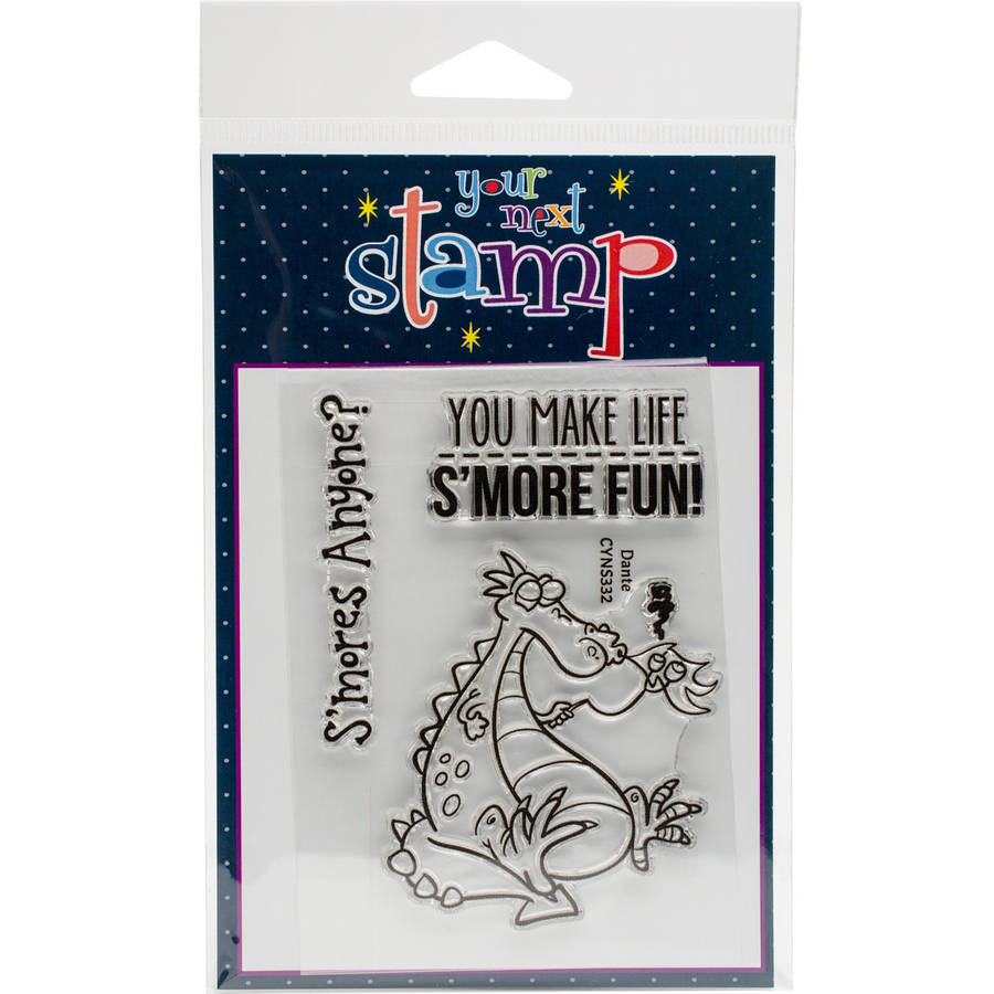 """Your Next Stamp Clear Stamps, 3"""" x 4"""""""