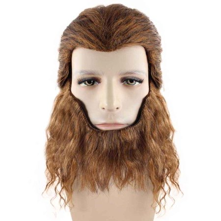 Beast Wig, Brown Kids HM-175](Childrens Rapunzel Wig)