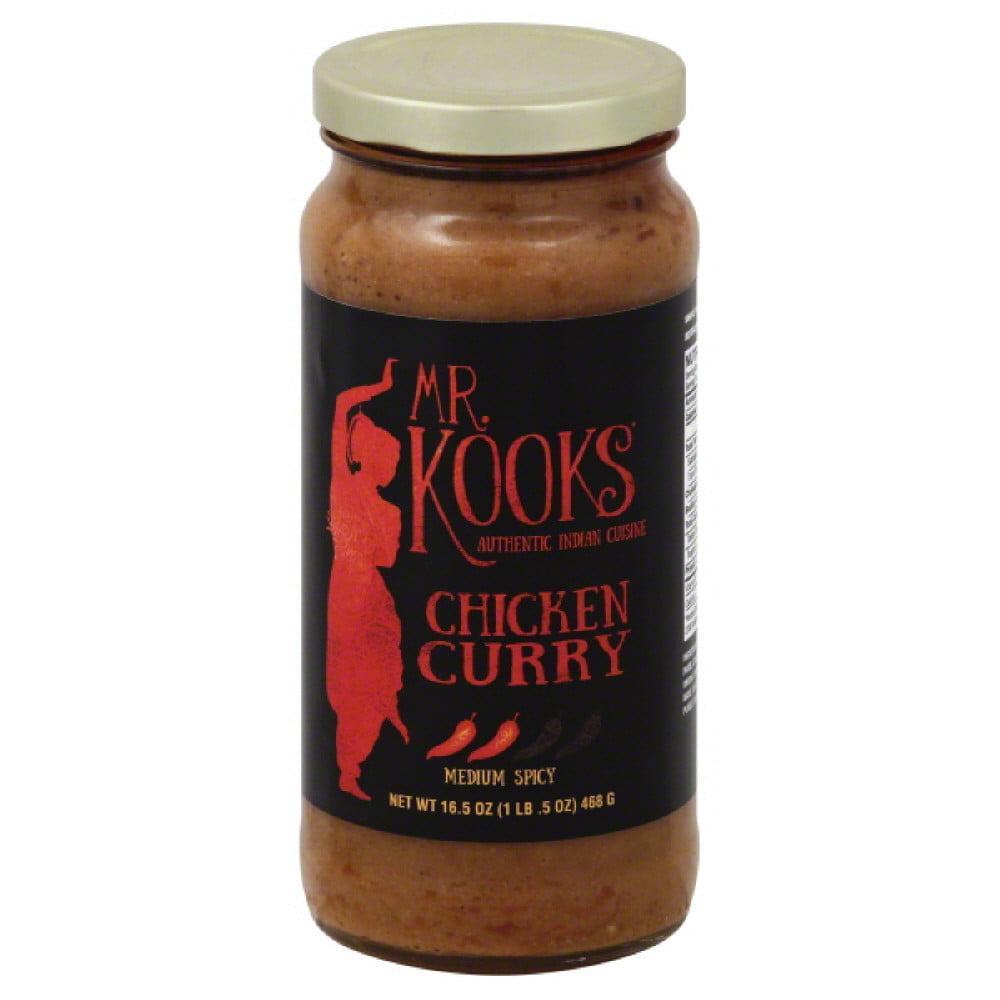Mr Kooks Curry, Chicken, Medium Spicy
