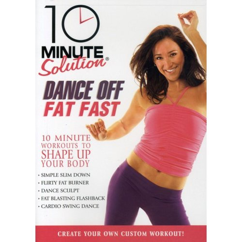 10 Minute Solution: Dance Off Fat Fast (Full Frame) by STARZ HOME ENTERTAINMENT