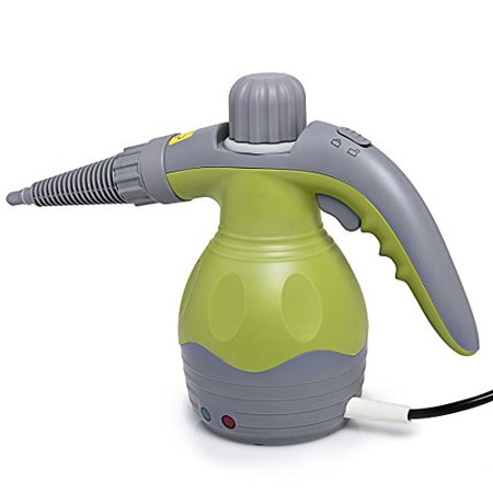 Ivation Handheld Pressurized Steam Cleaner - Multi-Purpose and Multi-Surface All Natural, Chemical-Free Steam Cleaning for Home, Auto, Patio, & More