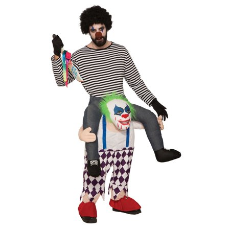 Adult Ride-A- Evil Clown Costume](Evil Clown Halloween Prop)