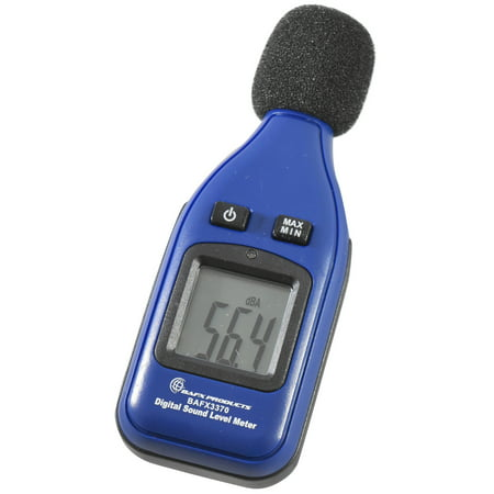 BAFX Products® - Decibel Meter / Sound Level Reader - W/ Battery!
