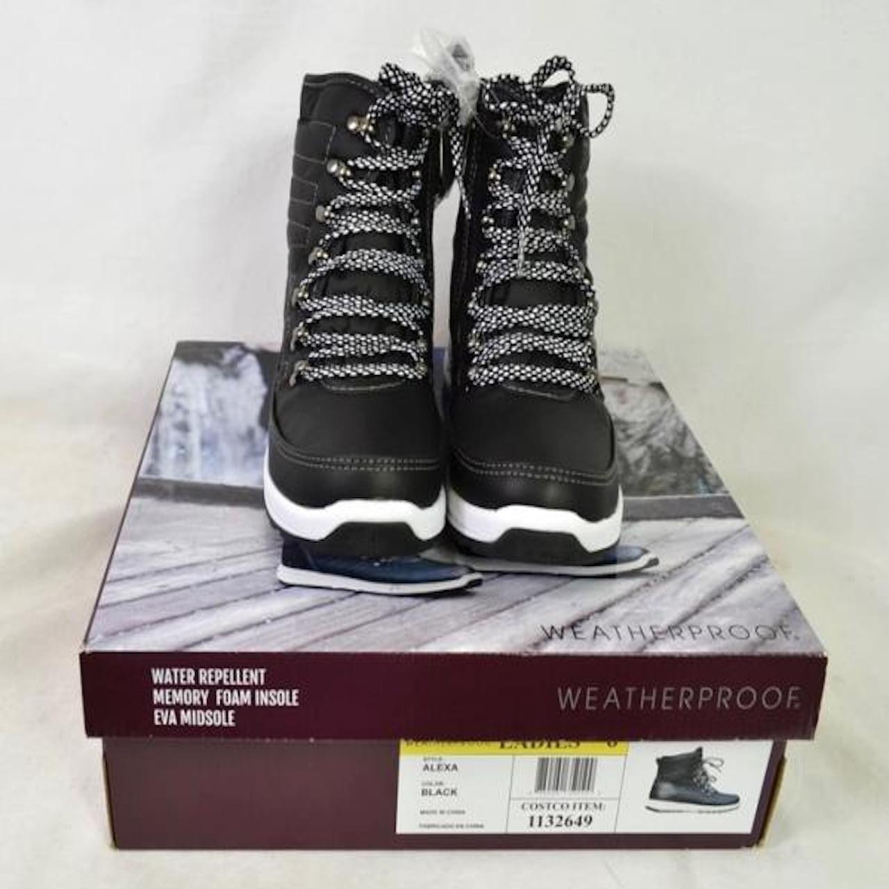Weatherproof Ladies/' Alexa Memory Foam Winter Boots