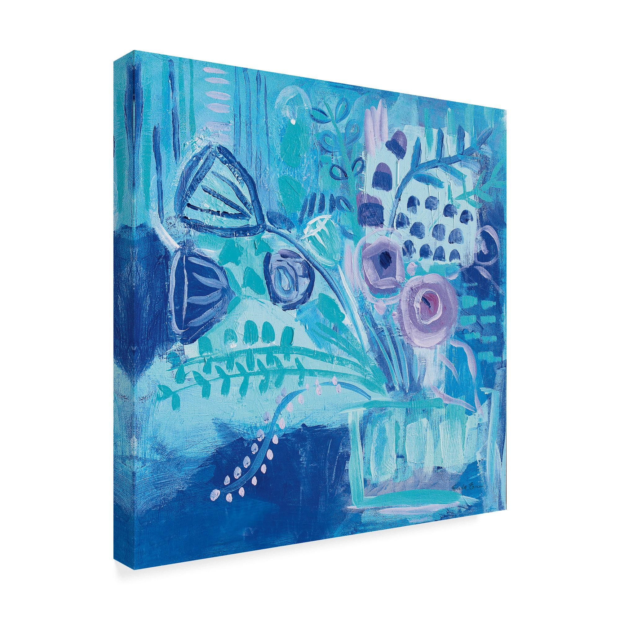 Global Gallery Farida Zaman Beach Living III Giclee Stretched Canvas Artwork 24 x 20