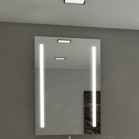 Orren Ellis Lency Illuminated Eco Friendly Bathroom Vanity Wall Mirror