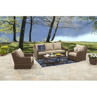 4-Piece BH&G Hawthorne Park Sofa Conversation Kit