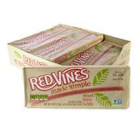 Red Vines Made Simple Berry Twists, 4oz Tray (9 Pack)