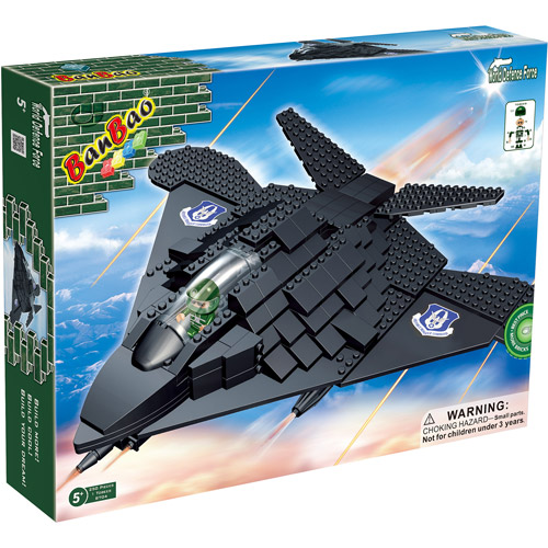 BanBao F-117 Fighter Play Set