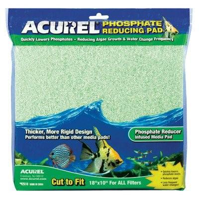Phosphate Filter Pad - Acurel Phosphate Reducing Media Aquarium Filter Pad, 18