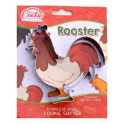 Rooster Cookie Cutter- Stainless Steel