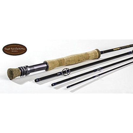5wt Rods (Temple Fork: Clouser Series Fly Rod, TF 05 90-4 (9', 5wt,)