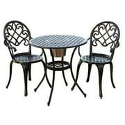 3-Pc Outdoor Bistro Furniture Set