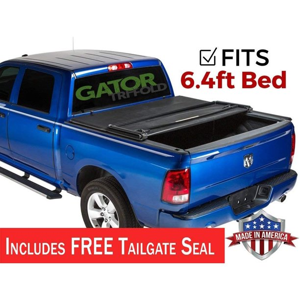 Gator Etx Tri Fold Fits 2009 2018 Dodge Ram 6 4 Ft Bed No Rambox Only Tonneau Truck Bed Cover Made In The Usa 59202 Walmart Com Walmart Com