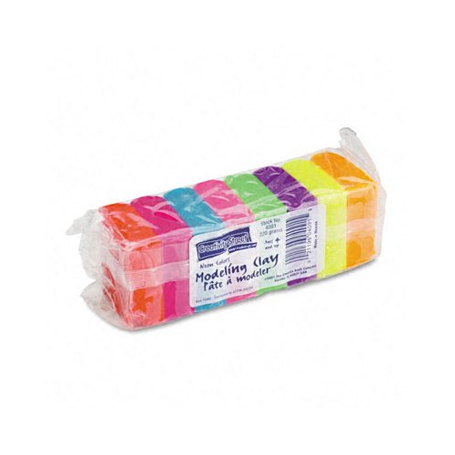 THE CHENILLE KRAFT COMPANY Modeling Clay Assortment,220 G by Chenille Kraft