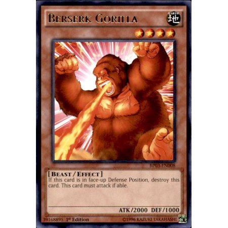 YuGiOh Battle Pack 3 Monster League Berserk Gorilla