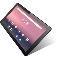 """iView 10.1"""" Tablet, Android 8.1 Go Edition, Quad Core, 16GB Storage, Micro HDMI, Dual Cameras, Black"""