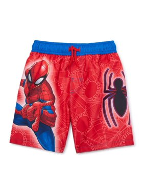 Spider-Man Toddler Boy Swim Trunks