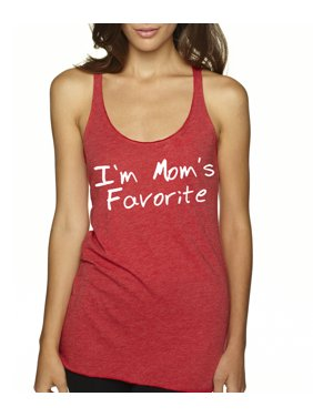 8c1451f3ab3ed3 Product Image New Way 470 - Women s Tank-Top I m Mom s Favorite Daughter  Son Sibling