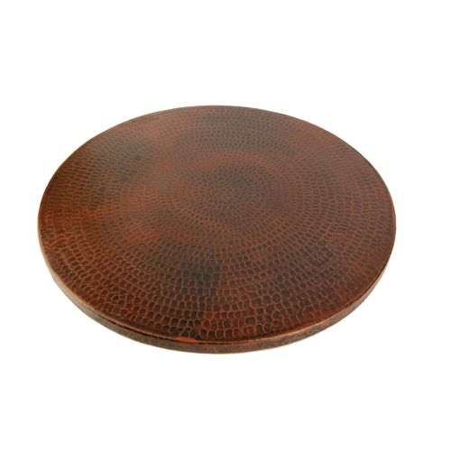 """Premier Copper Products LS20DB Lazy Susan 20"""" Hand Hammer..."""