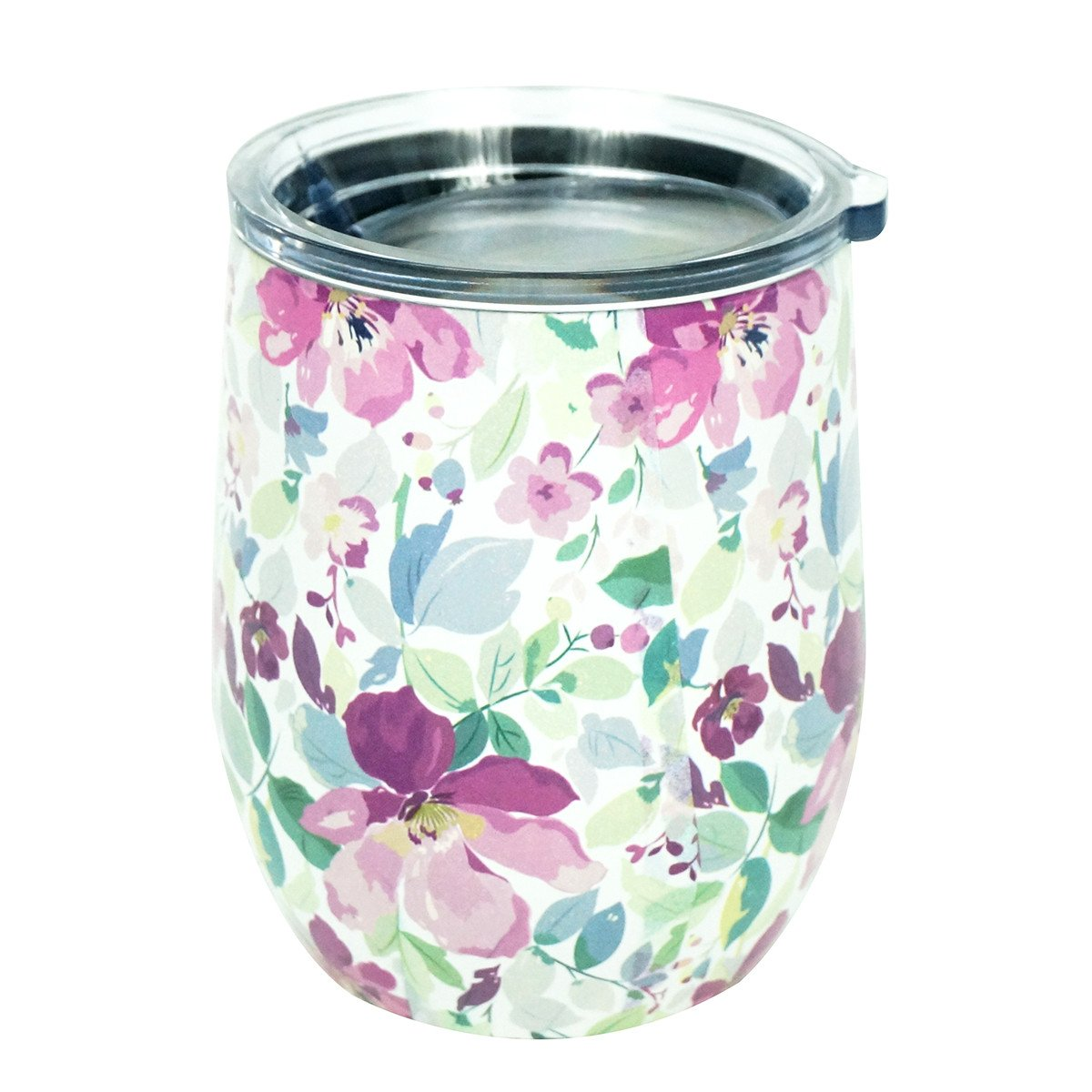 Mary Square Stemless Wine Glass with Lid Salem