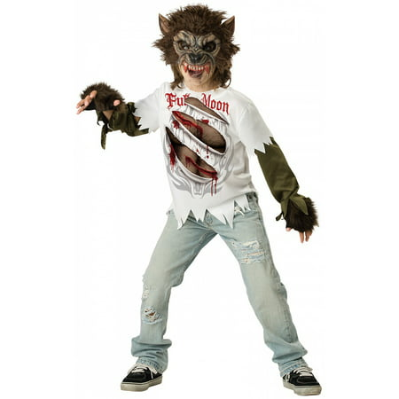 Werewolf Child Costume - XX-Large - Werewolf Costume For Kids