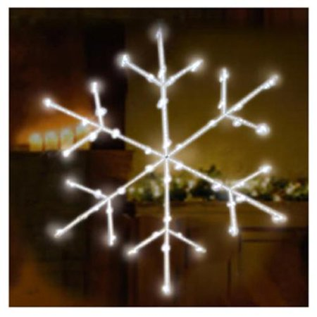 endura right lighting x12bwd1045tv christmas window decoration snowflake battery operated 30 led