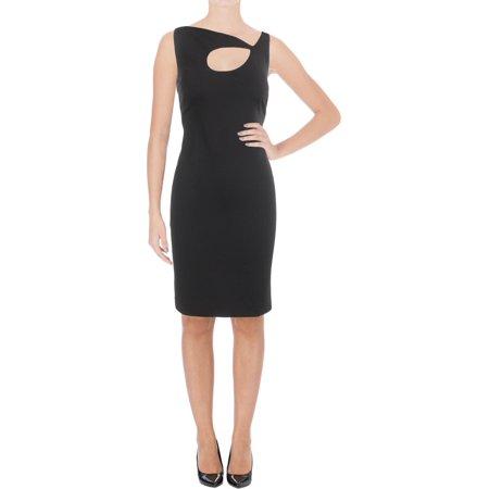 Lauren Ralph Lauren Womens VENETTA Sleeveless Cut Out Cocktail Dress (Heart Cut Out Back Dress)