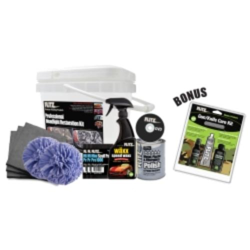 Flitz PHR-KG67001 Professional Headlight Restoration Kit