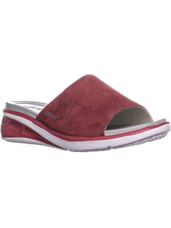 9ed8d1a28c7 Womens JSport by Jambu Ruby Slide On Sandals