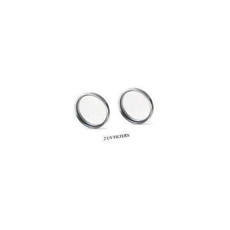 TWO 2 UV Filters for Sony DCR-SR200C, Sony DCR-SR300, Sony DCR-SR300C, Sony DCR-TRV530, Sony CCD-TRV328E (Sii Ccd Filter)