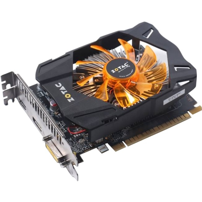 Zotac GeForce GTX 750 Ti Graphic Card - 2 GB DDR5 SDRAM - PCI Express ZT-70605-10M