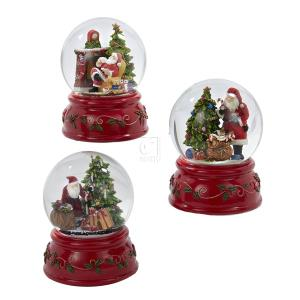 Kurt S. Adler 100MM WIND-UP MUSICAL WITH DIFFERENT SANTA ...