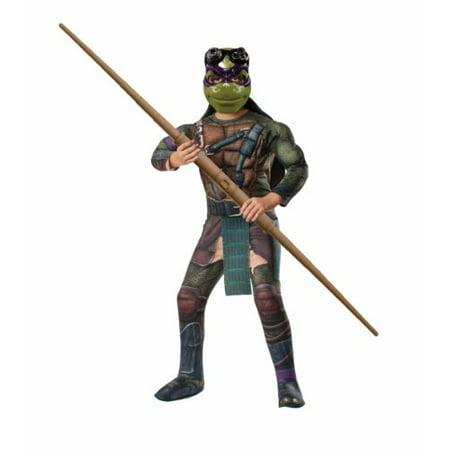 TMNT Teenage Mutant Ninja Turtles Donatello Halloween Costume Small 4-6 - Tmnt Donatello Halloween Costumes