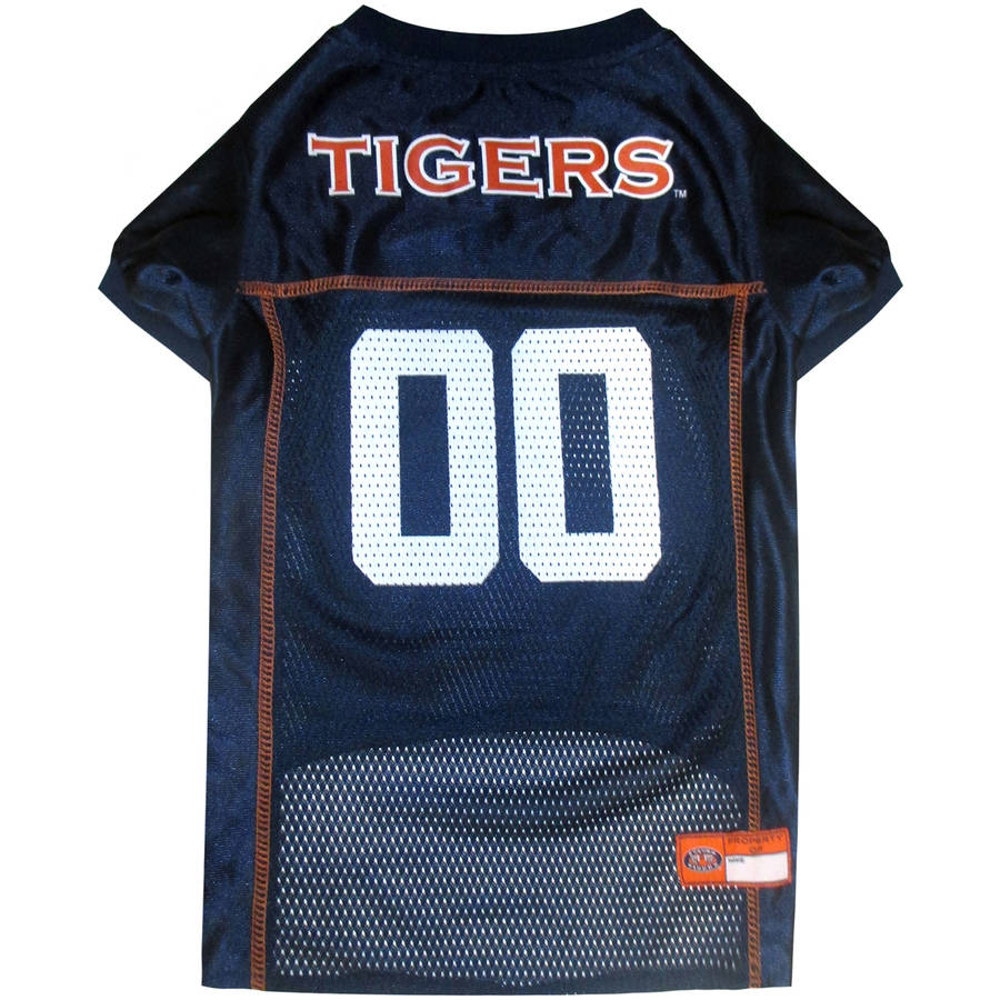 Pets First College Auburn Tigers Collegiate Dog Jersey, Available in Various Sizes