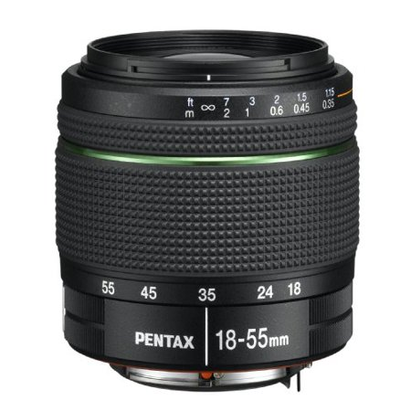 PENTAX DA 18-55mm f/3.5-5.6 AL Weather Resistant Lens for Pentax DSLR (Best Pentax K1000 Lenses)